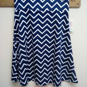 2XL LuLaRoe Azure Skirt